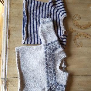 Zara 1-3 month 2 sweaters